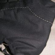 Marynarka czarna z krótkim rękawkiem.-143