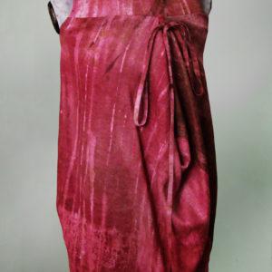 Sukienka w fioletach, bombka.-0