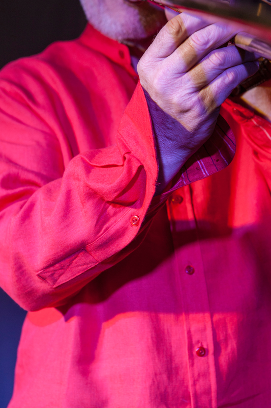 Koszula czerwona rozpinana ze stójką.-898