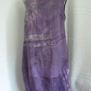 Sukienka w fioletach, bombka u dołu.-0